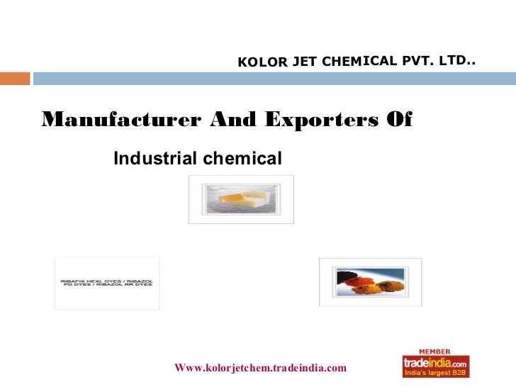 KOLOR JET CHEMICAL PVT. LTD..Manufacturer And Exporters Of     Industrial chemical                      roto1234          ...