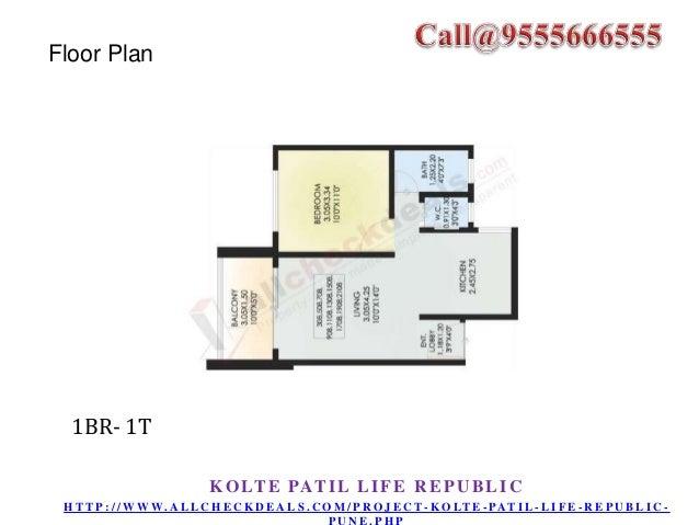 Floor Plan  2BR-2T  K O LT E PAT I L L I F E R E P U B L I C H T T P : / / W W W. A L L C H E C K D E A L S . C O M / P R ...