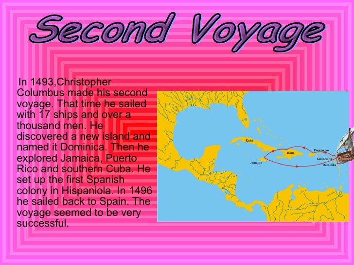 the importance of christopher columbus voyages As you hopefully know, he took three voyages, the first, in 1492, he was looking for asia, but instead found the caribbean why was this important i know it sounds simple, but it stumps me i can't say that he discovered the americas, because actually the native americans did, who were originally from asia.