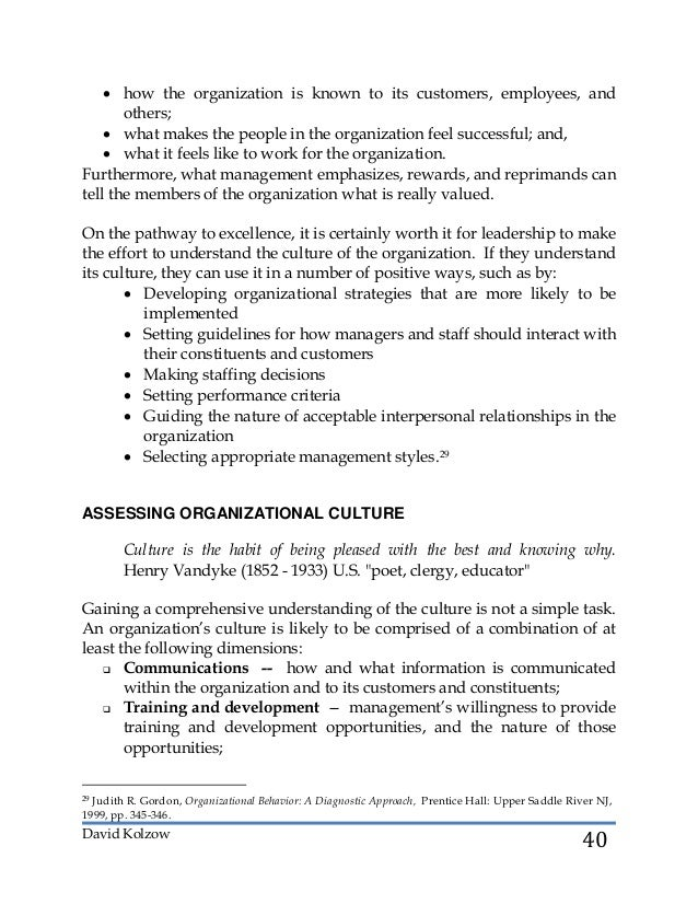 """organising managing for performance The processes of organization and management comprehensiveness and performance in an industry with an unstable environment,"""" academy of management."""
