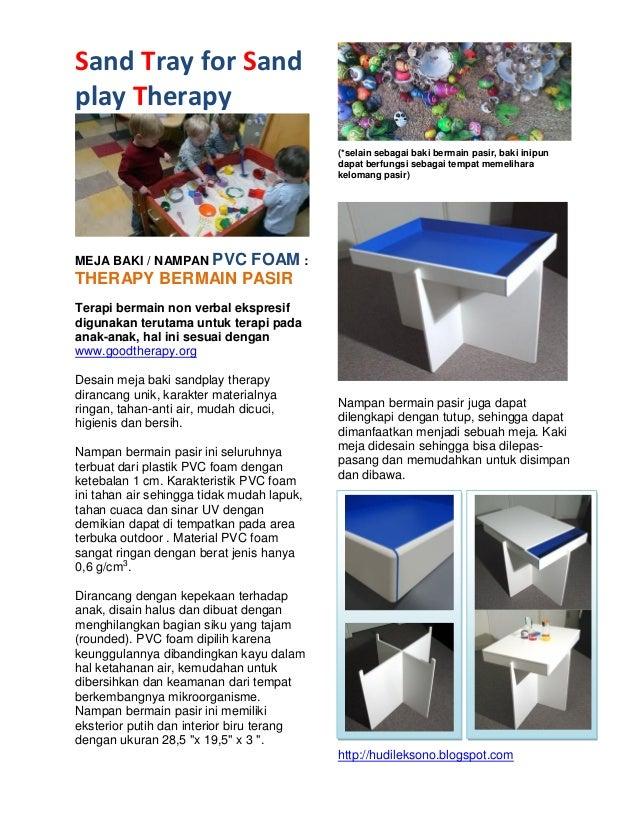Sand Tray for Sand play Therapy MEJA BAKI / NAMPAN PVC FOAM : THERAPY BERMAIN PASIR  Terapi bermain non verbal ekspresif d...