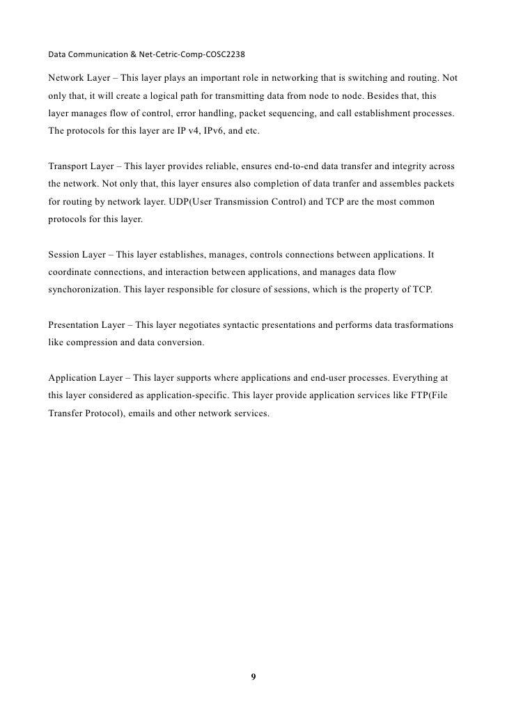 data communication and net centric data pdf