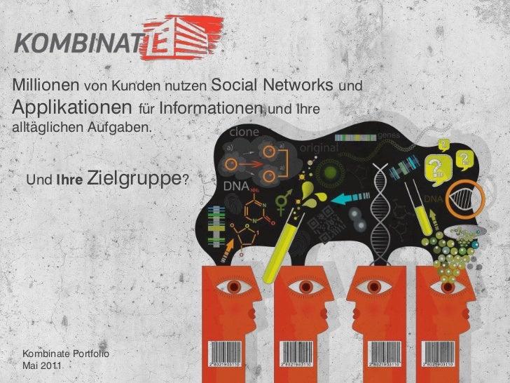 Millionen von Kunden nutzen Social Networks undApplikationen für Informationen,und Ihrealltäglichen Aufgaben.  Und Ihre Zi...