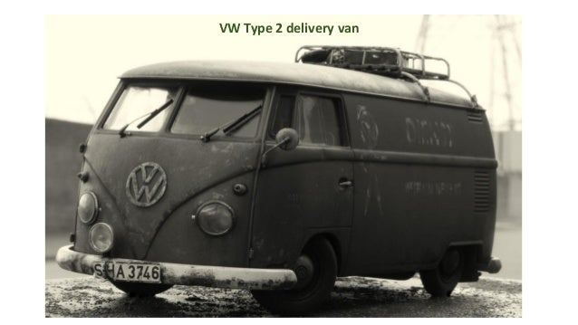 VW Type 2 delivery van