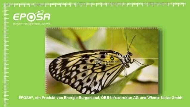 EPOSA®, ein Produkt von Energie Burgenland, ÖBB Infrastruktur AG und Wiener Netze GmbH