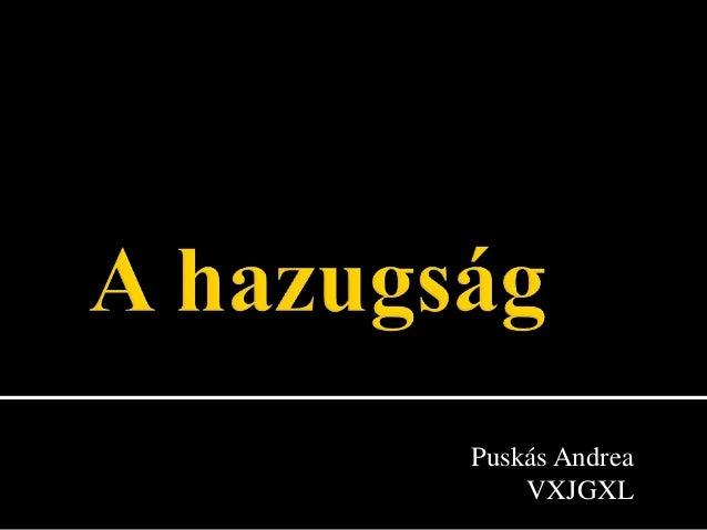 Puskás Andrea    VXJGXL