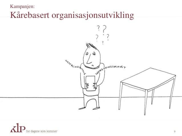 Kampanjen: Kårebasert organisasjonsutvikling 9