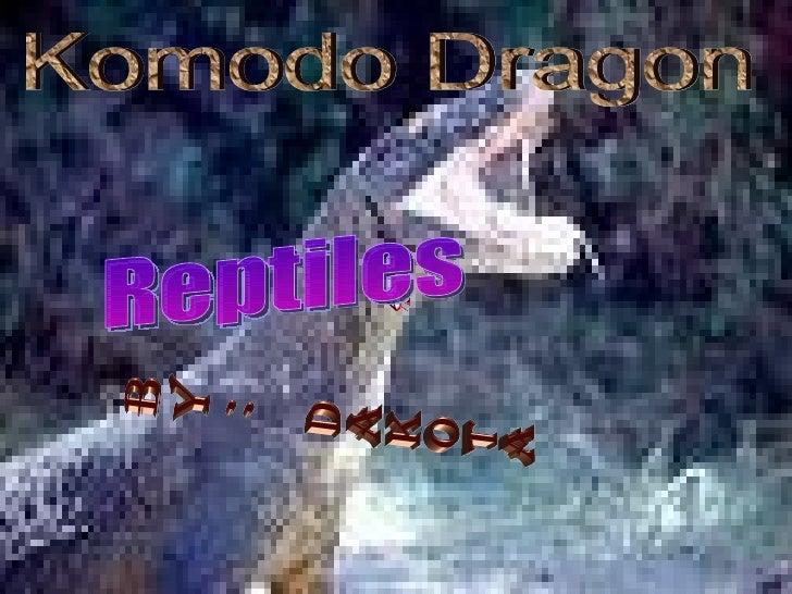 By: Dakota Komodo Dragon Reptiles