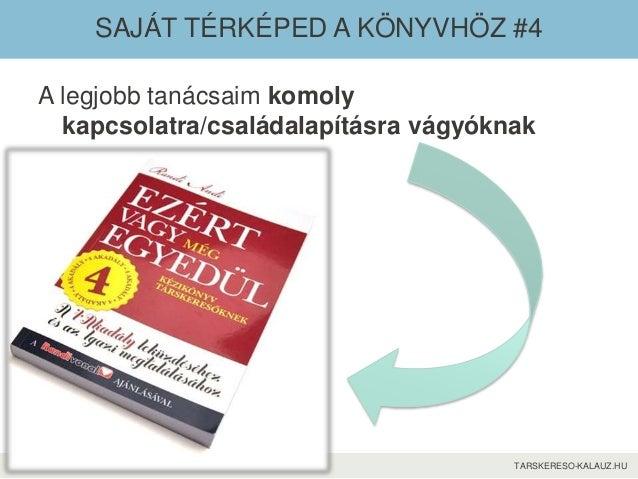 TARSKERESO-KALAUZ.HU SAJÁT TÉRKÉPED A KÖNYVHÖZ #4 A legjobb tanácsaim komoly kapcsolatra/családalapításra vágyóknak
