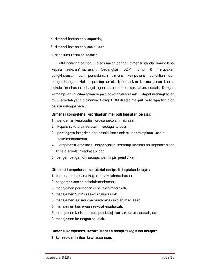 Laporan Program Supervisi Kepala Sekolah 2017 Aveletter