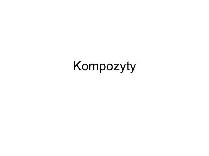 Kompozyty