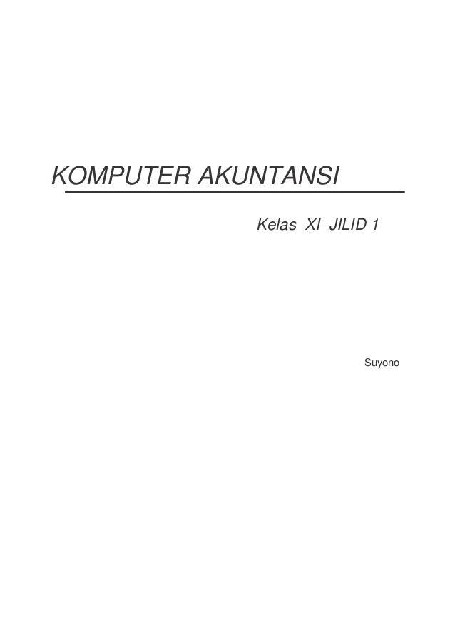 Buku Paket Komputer Akuntansi Kelas 11