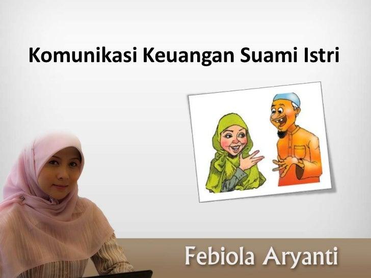 Komunikasi Keuangan Suami Istri