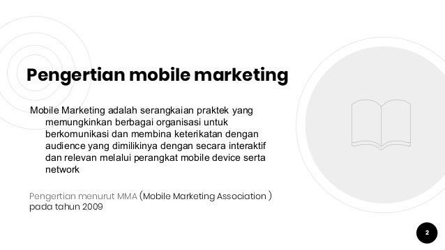 Komunikasi Melalu Mobile Marketing