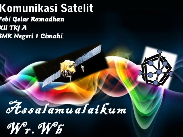 Free Powerpoint Templates Page 1 Free Powerpoint Templates Komunikasi Satelit Febi Gelar Ramadhan XII TKJ A SMK Negeri 1 C...