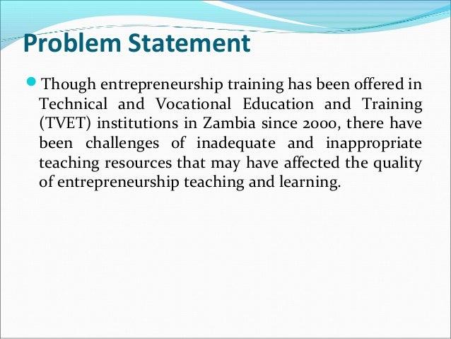 good problem statement