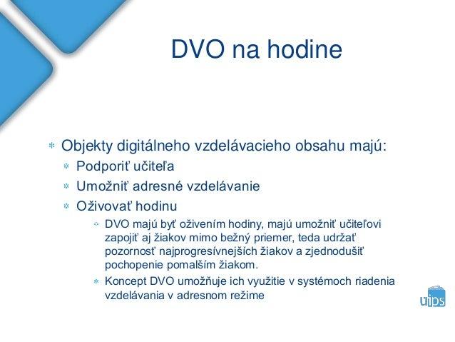 Koncepcia DVO pre Národný projekt modernizácia vzdelávania Slide 3
