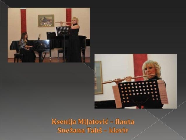 "Koncert profesora duvačkog odseka MŠ ""Isidor Bajić"""