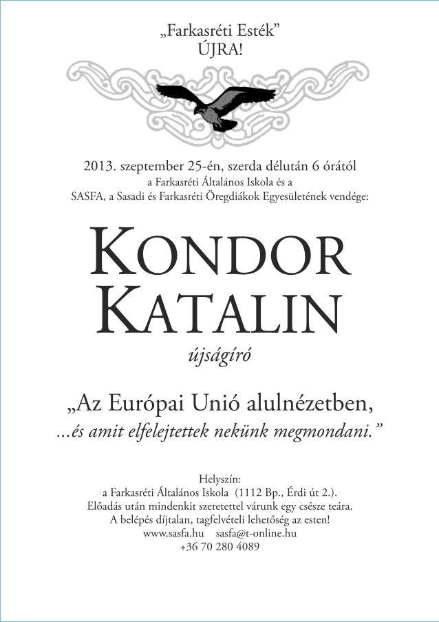 Kondor Katalin