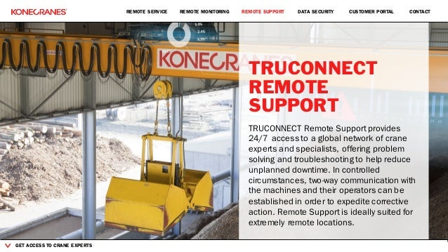 Konecranes TRUCONNECT Remote Service