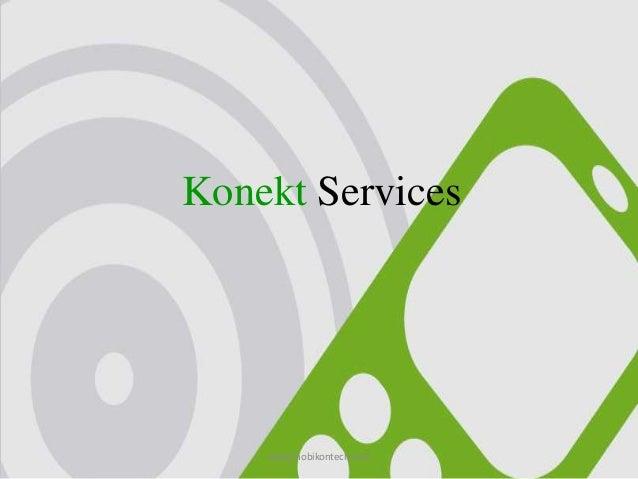 Konekt Services www.mobikontech.com