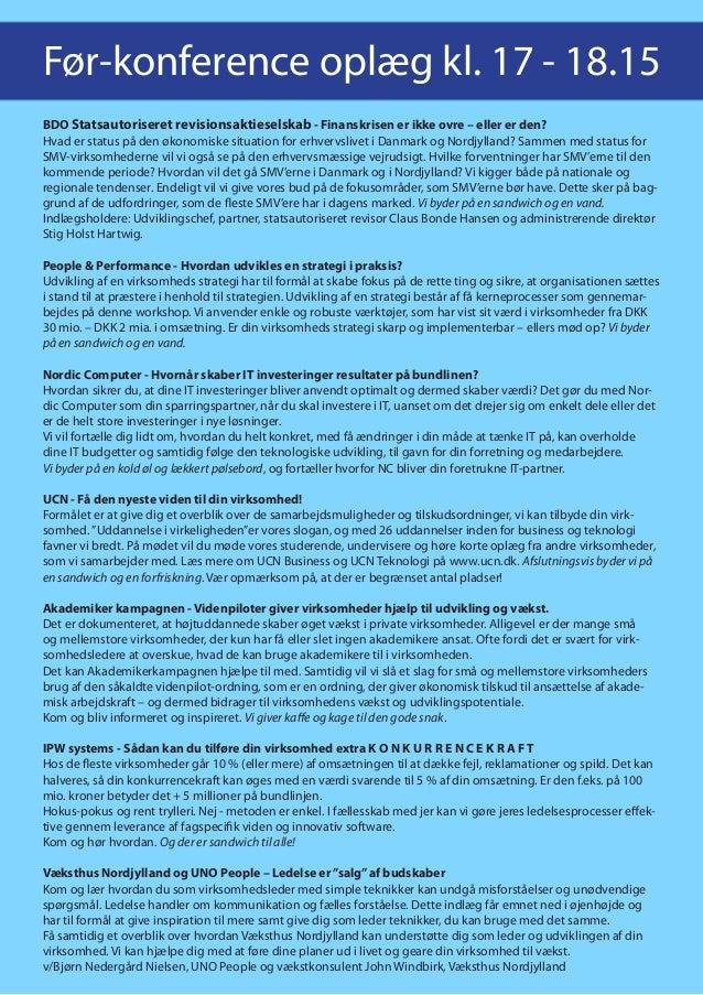 Konference vækst og ledelse 2013 Slide 2