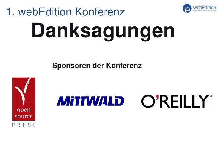 Keynote der 1. webEdition Benutzer Konferenz 2011 in Frankfurt Slide 2