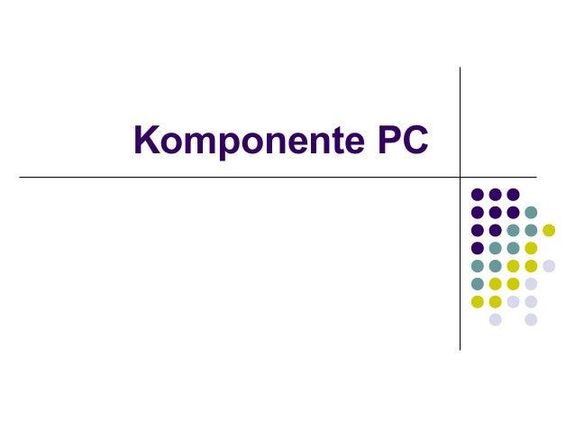 Komponente PC