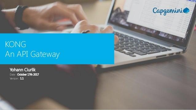 Introduction to Kong API Gateway