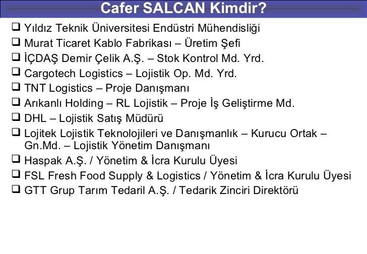 Cafer SALCAN Kimdir? Yıldız Teknik Üniversitesi Endüstri Mühendisliği Murat Ticaret Kablo Fabrikası – Üretim Şefi İÇDAŞ...