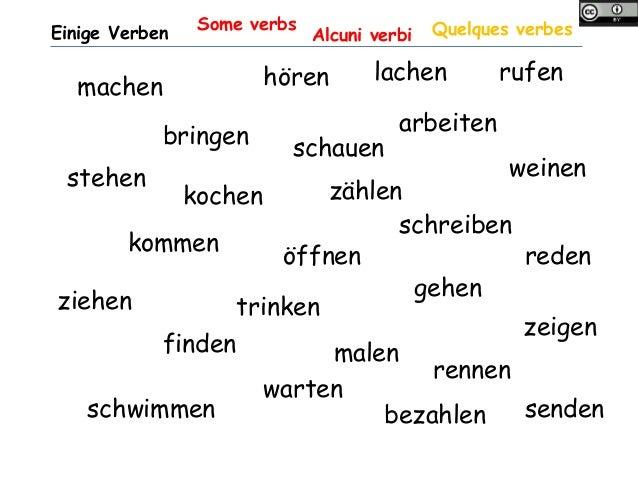 Konjugation schwache verben2 Slide 2