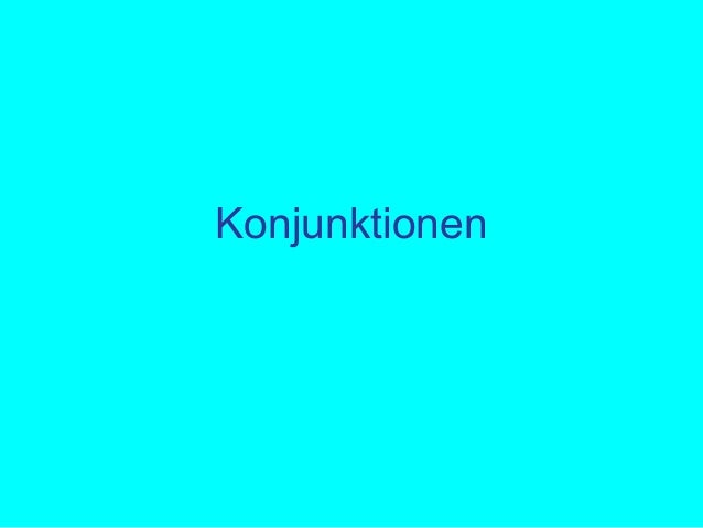 Konjunktionen