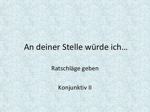 Konjunktiv mit olga k hl for Voga deutsche seite