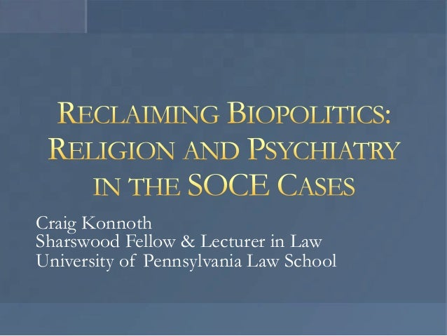 Craig Konnoth Sharswood Fellow & Lecturer in Law University of Pennsylvania Law School