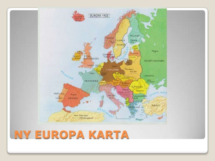 Karta Europa Andra Varldskriget.Konsekvenser Av Forsta Varldskrig