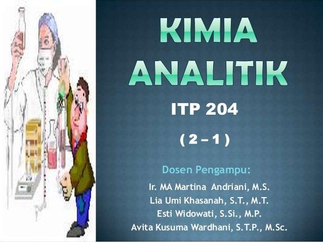 Ir. MA Martina Andriani, M.S. Lia Umi Khasanah, S.T., M.T. Esti Widowati, S.Si., M.P. Avita Kusuma Wardhani, S.T.P., M.Sc....