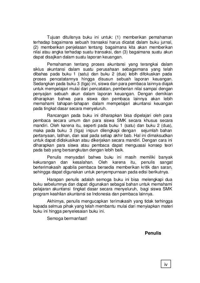 Konsep Dasar Akuntansi Dan Pelaporan Keuangan Jilid 3 Smk