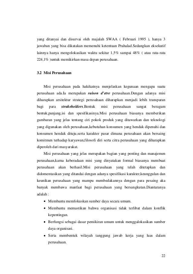 yang ditanyai dan disurvai oleh majalah SWAA ( Februari 1995 ), hanya 3 jawaban yang bisa dikatakan memenuhi ketentuan Pra...