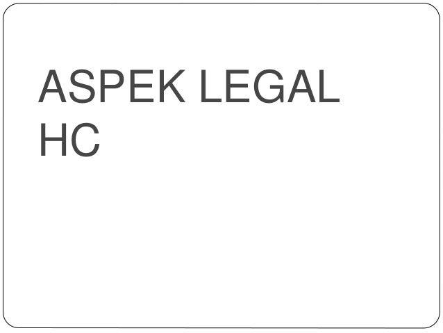 ASPEK LEGAL HC