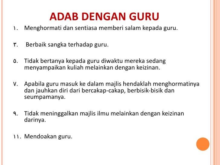Image result for adab berguru
