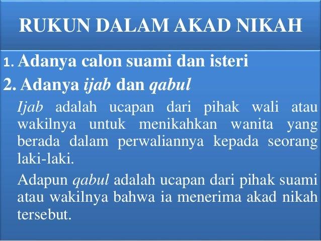Konsep Kafa Ah Syarat Dan Rukun Nikah Mahar