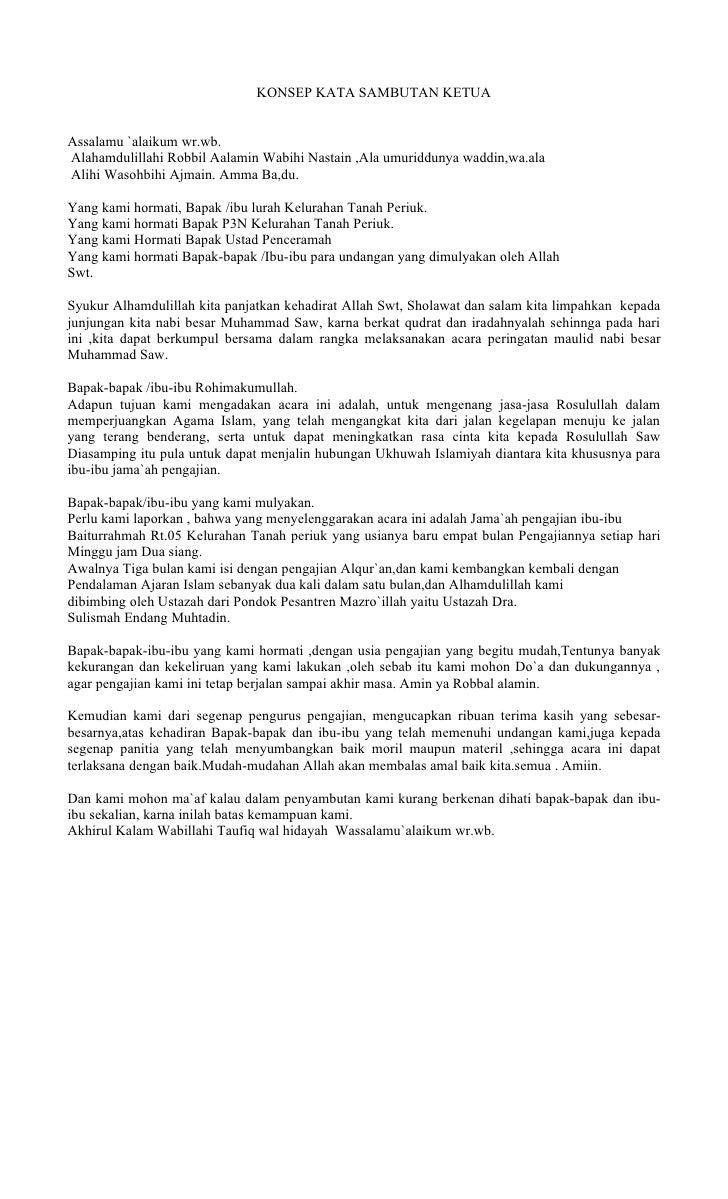 Contoh Pidato Sambutan Ketua Panitia 17 Agustus Bahasa
