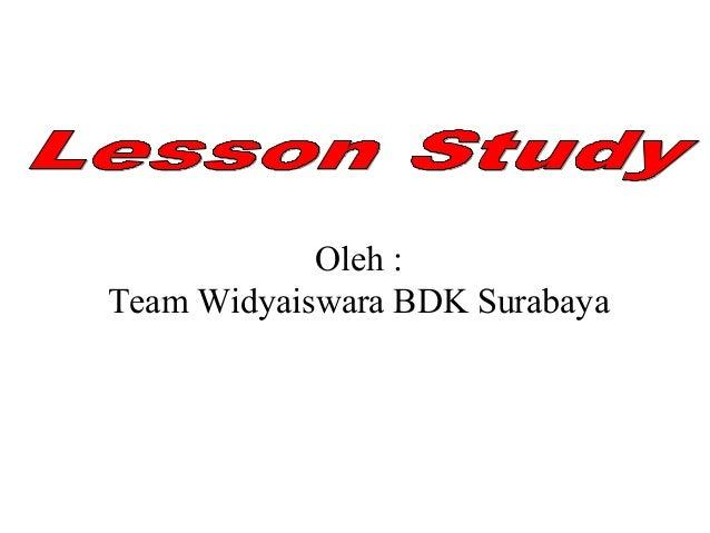 Oleh : Team Widyaiswara BDK Surabaya