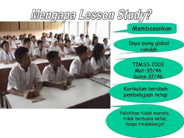Membosankan Daya saing global rendah TIMSS 2003 Mat-35/46 Sains-37/46 Kurikulum berubah pembelajaan tetap Pelatihan tidak ...