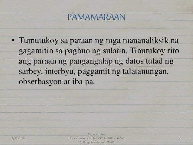 paksa ng konseptong papel Free essays on halimbawang paksa ng isang konseptong papel get help with your writing 1 through 30.