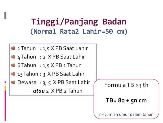 Tabel Berat Badan Ideal Bayi Laki Laki Terlengkap