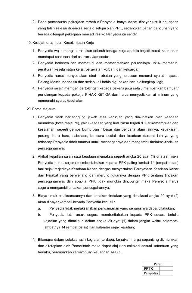 Kontrak E Proc 2014 Cipta Karya