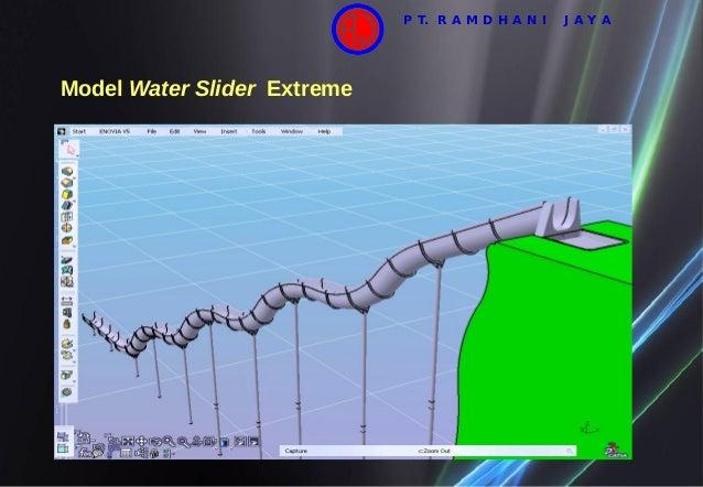 Model Water Slider Extreme P T. R A M D H A N I J A Y A