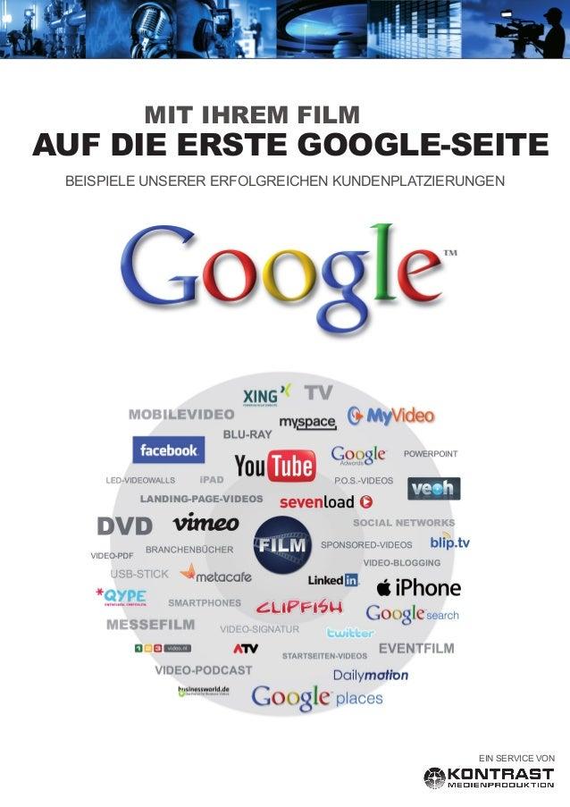 Kontrast Medienproduktion - Am Fallturm 7 - 28359 Bremen Bankverbindung: Kontrast Medienproduktion - Sparkasse Bremen - BL...