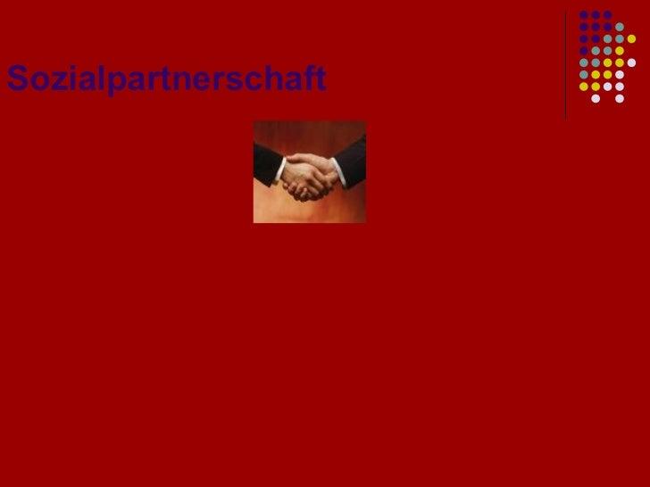 Sozialpartnerschaft